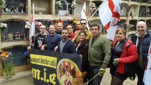mic, daniel cardona,homenatge,identitaris, catalans,